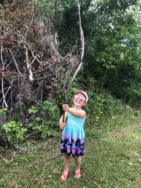 Hunt for sticks to decorate as magic wands.