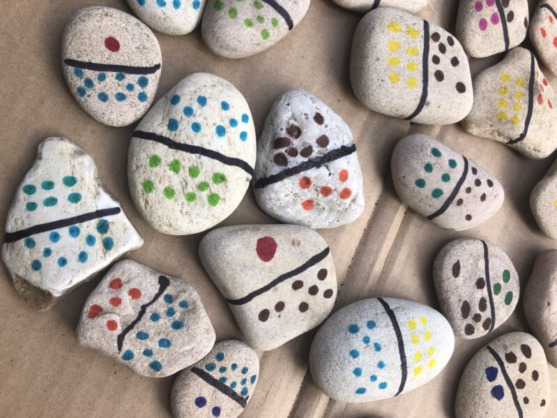 Nature Collection Rock Dominoes