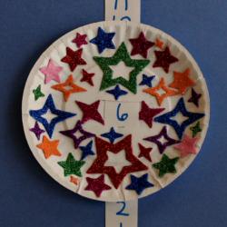Paper Plate Countdown Craft - JDaniel4's Mom