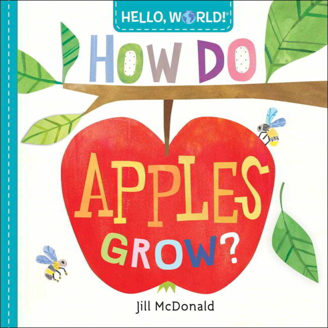 Read these fun apple books for toddlers, and try our favorite simple apple activities!