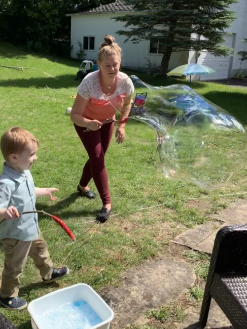 Get everyone involved in making the biggest bubbles you can with these DIY bubble wands.