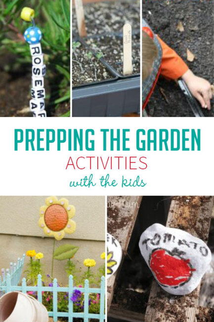 Activities for kids to help With preparing the garden.