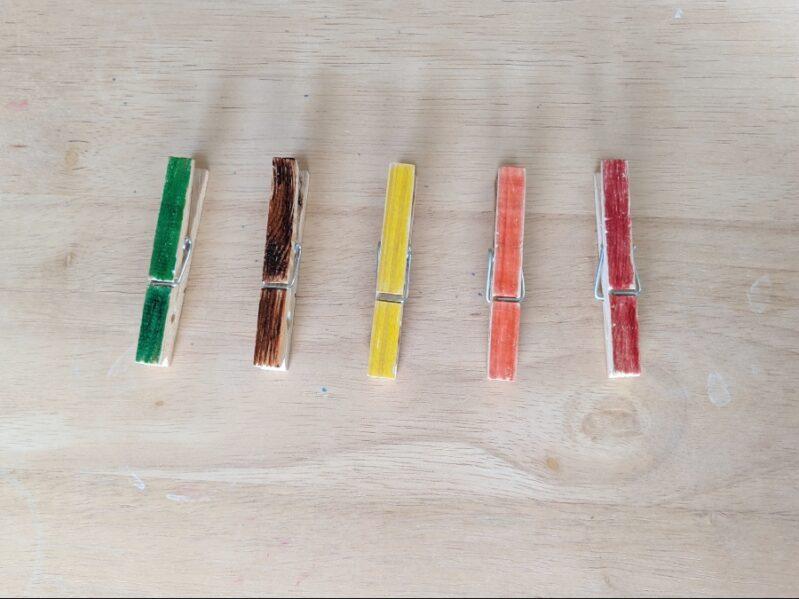 Clothespin Color Choices