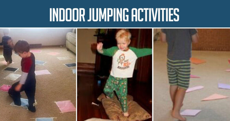 How do I keep my kids active indoors?? A whole list of indoor gross motor activities for toddlers and preschoolers.