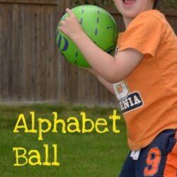 Alphabet Ball - Hands On As We Grow