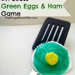 Green Eggs and Ham Spatula Game - The Frugal Navy Wife