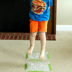Hop on Pop Bubble Wrap Rhyming Game - Fun Learning for Kids