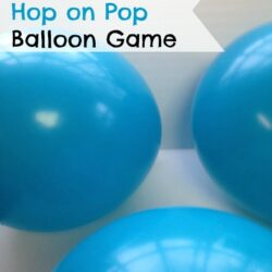 Hop on Pop Balloon Game - The Frugal Navy Wife
