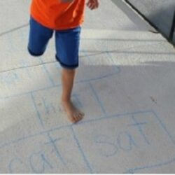 Hop on Pop Hopscotch - Coffee Cups and Crayons