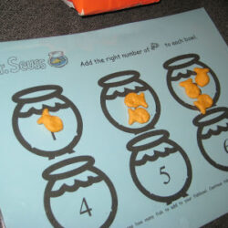 One Fish Two Fish Counting Printable - ObSEUSSed