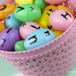 Plastic Egg Letter Match - Mom Wife Busy Life