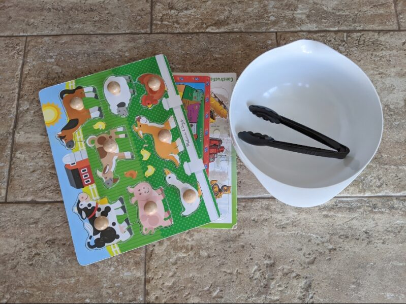 Puzzle Play Mix Up Activity Supplies