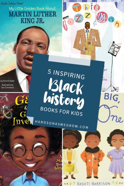 Let's celebrate Black history! These incredible Black history books for young kids will inspire you and your children.