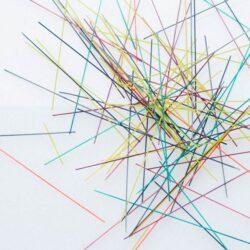 Random Art with Spaghetti (Hands On As We Grow)