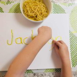 Spaghetti Letters Writing (Hands On As We Grow)