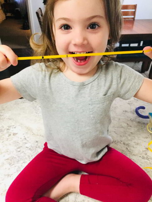 This hands-on measuring activity is perfect for toddlers and preschoolers!