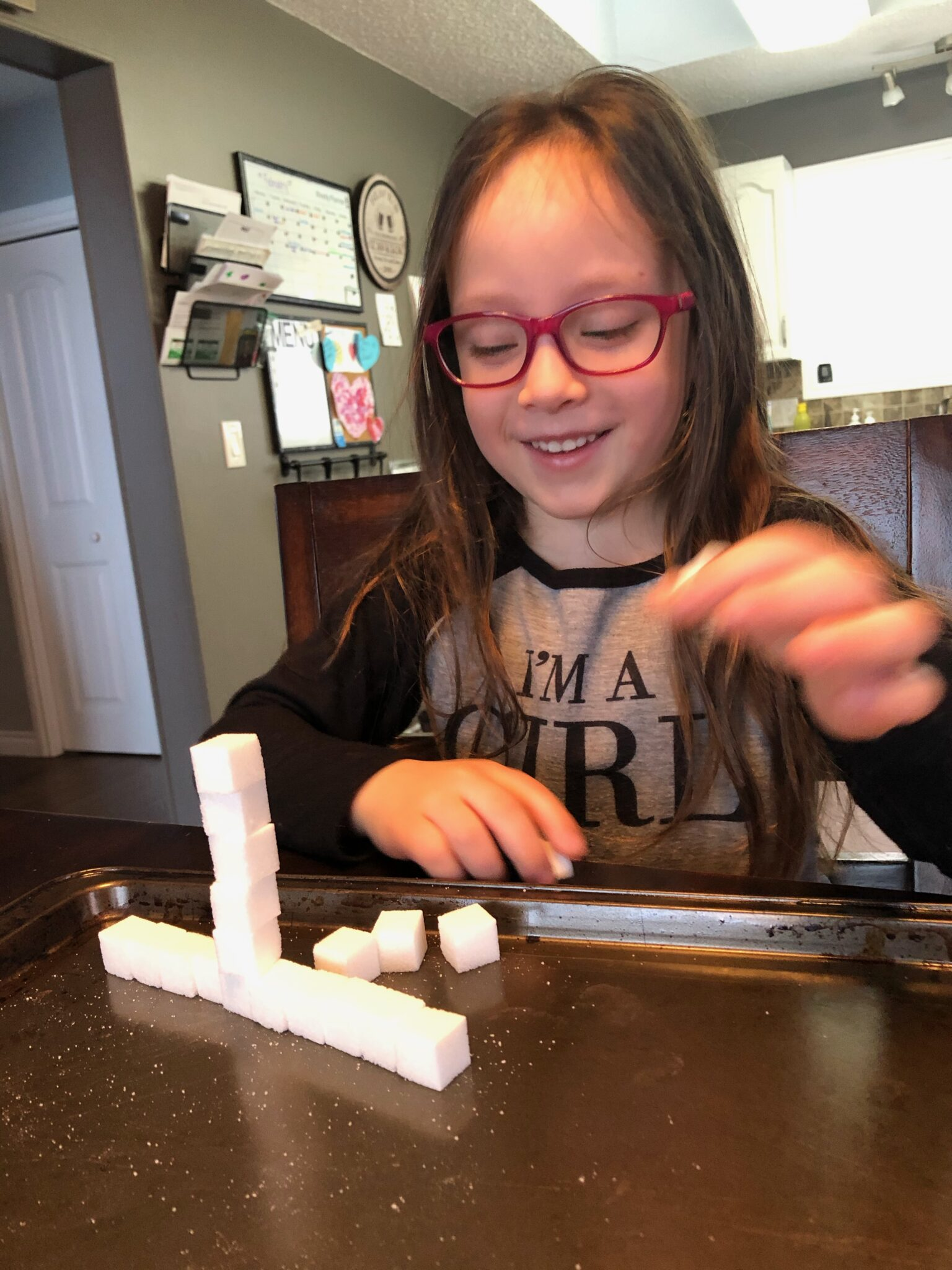Grab a box of sugar cubes and get creative with these simple activities for kids. Fun from building towers to rainbow colored sugar cubes.