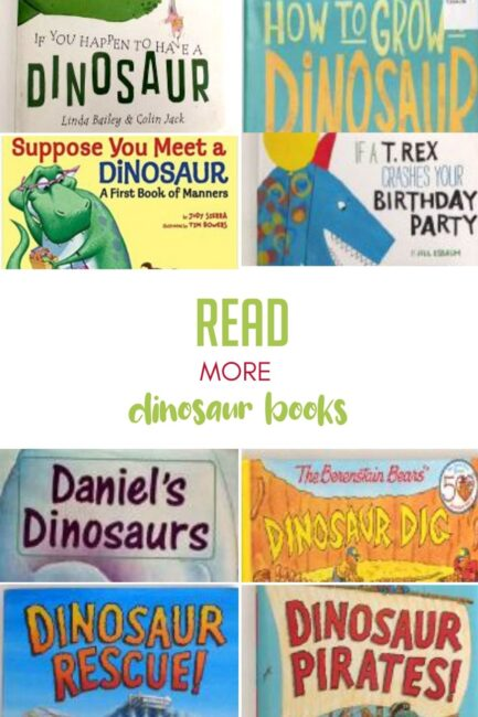 Excellent list of dinosaur books perfect for any dino-loving child out there.