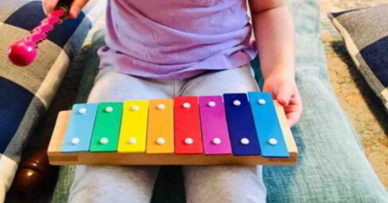 Try this simple musical activity for preschoolers to copy rhythms and patterns in classical music! Discover classical music and play along.