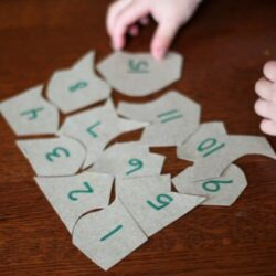 Learning to Count Cereal Box Puzzle