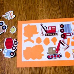 Sticker DIY Puzzle for Matching Fun