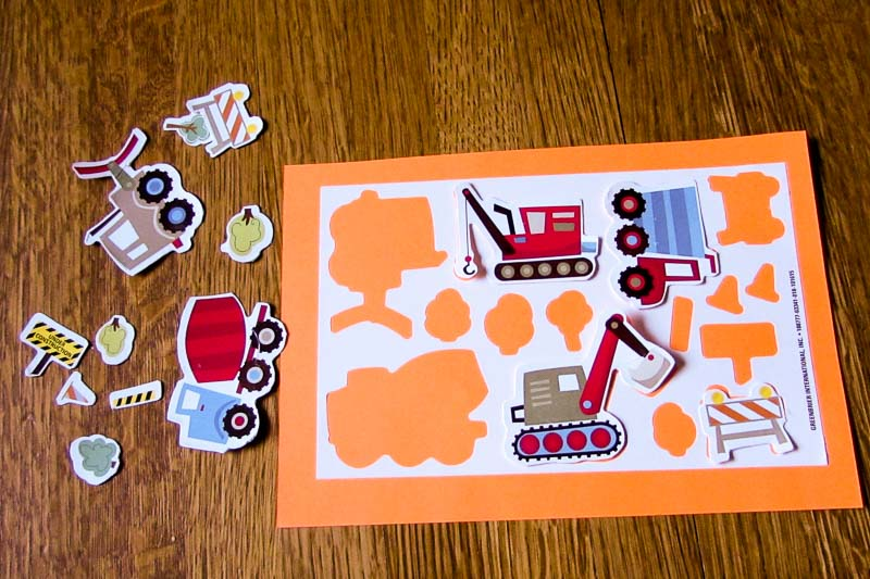 Sticker DIY Puzzle Game for Matching Fun for Kids who love stickers