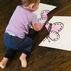 DIY Cardboard Puzzle for Toddlers