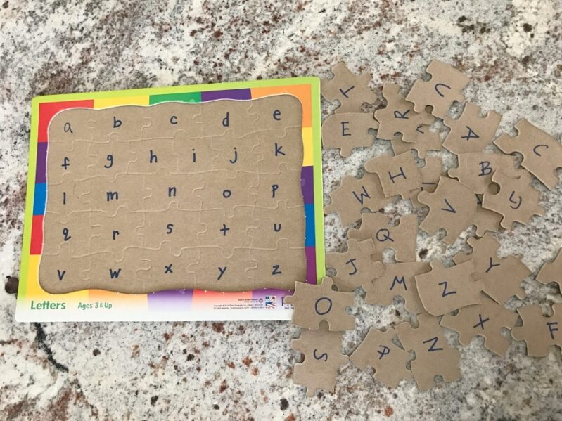 These Puzzle Learning Tricks for Preschoolers are an excellent way to use puzzles not only as a learning tool, but also as a wonderful independent activity.