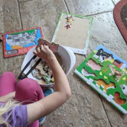 Mix and Match Puzzle Play Activity