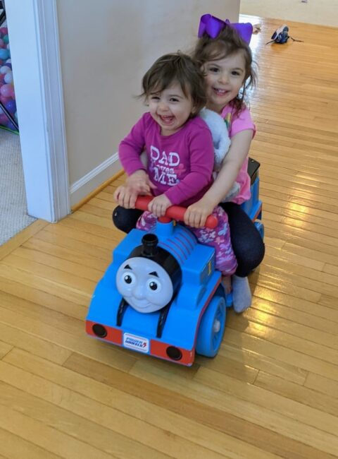 """Laurie tells us how much she loves her membership to The Activity Room in her Member Spotlight!  """"I fell in love with coming up with activities for my three year old. She says a lot that she wants to do 10 in a day, which you know, is a lot. We do a couple in a day. But she loves them. She's asking for them first thing in the morning. And she does really well. She concentrates and works hard on her activity."""""""