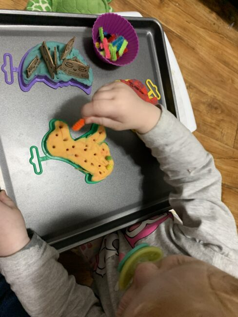 3 super fun new ways to use cookie cutters for fine motor activities with toddlers and preschoolers for hands on learning and play at home.