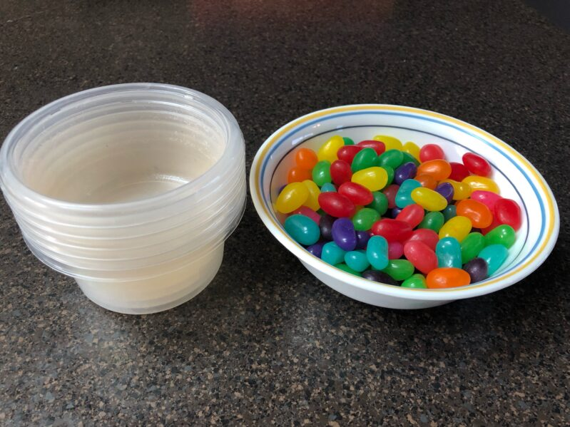 jelly bean experiment supplies needed