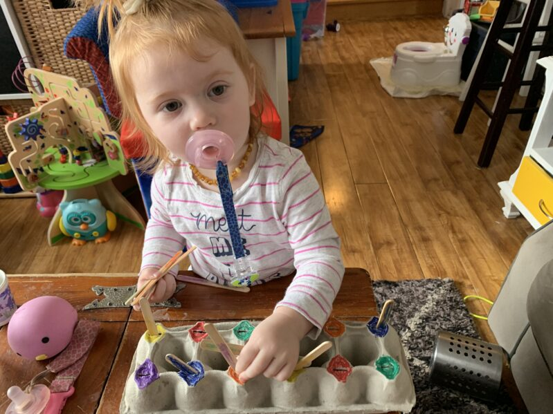 Eggcellent teaching activities for toddlers up to grade school with these simple activity ideas for hands on learning at home.