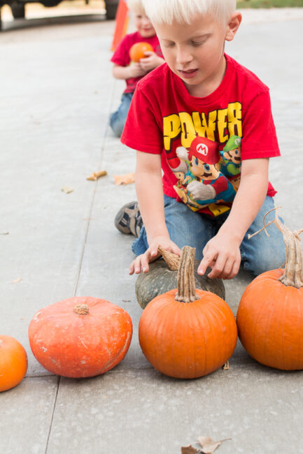 Work on spacial recognition with this super simple pumpkin sorting activity that is perfect for fall. Kids will have fun trying to find the tallest pumpkin in the mix.