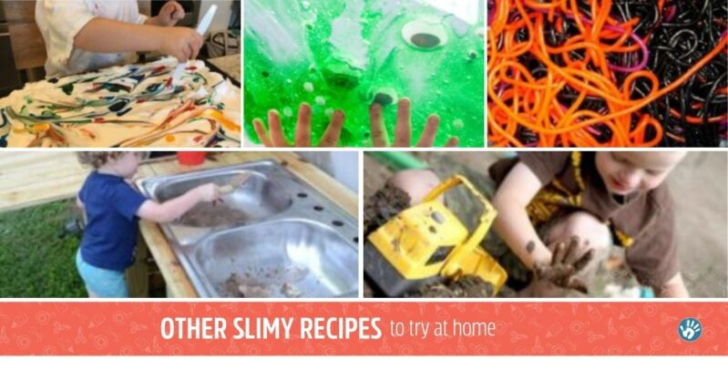Get get enough ooey gooey slime time? Try some of our gooey messy sensory activities your kids are sure to love.